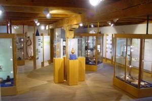 Ausstellungsraum im Obergeschoss des Schüttkastens © Stadtgemeinde Mautern