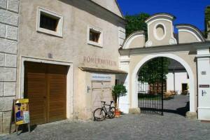 Eingang Römermuseum Mautern © Stadtgemeinde Mautern