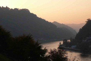 Donaudurchbruch bei der Linzerpforte © Eva Kuttner