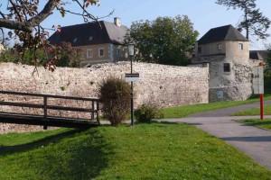 Stadtmauer mit spätantiker Befestigung © Eva Kuttner
