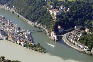 Passau: der Inn war die Grenze zur Provinz Rätien © WGD Donau Oberösterreich Tourismus GmbH