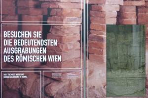 Eingang zum Römermuseum am Hohen Markt, 1010 Wien © Eva Kuttner