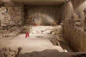 Bauten der römischen Kommandozentrale des Kastells AUGUSTIANIS in Traismauer © Museen am Donaulimes in Österreich, Foto: Peter Rauchecker