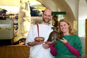 Einladung zur Führung mit  römischen Essen © Stadtgemeinde Tulln, Foto Markus Berger