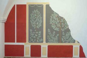 Wandmalerei im Römermuseum Tulln © Eva Kuttner