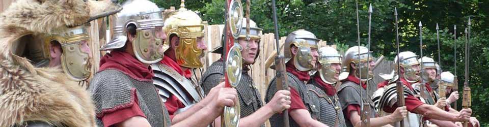 Römergruppe legio XV aus Pram  © Eva Kuttner